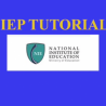 Individualized Education Plan Tutorial